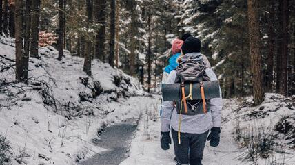 Winter hiking In New Brunswick