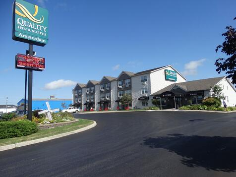 Modern hotels in Fredericton